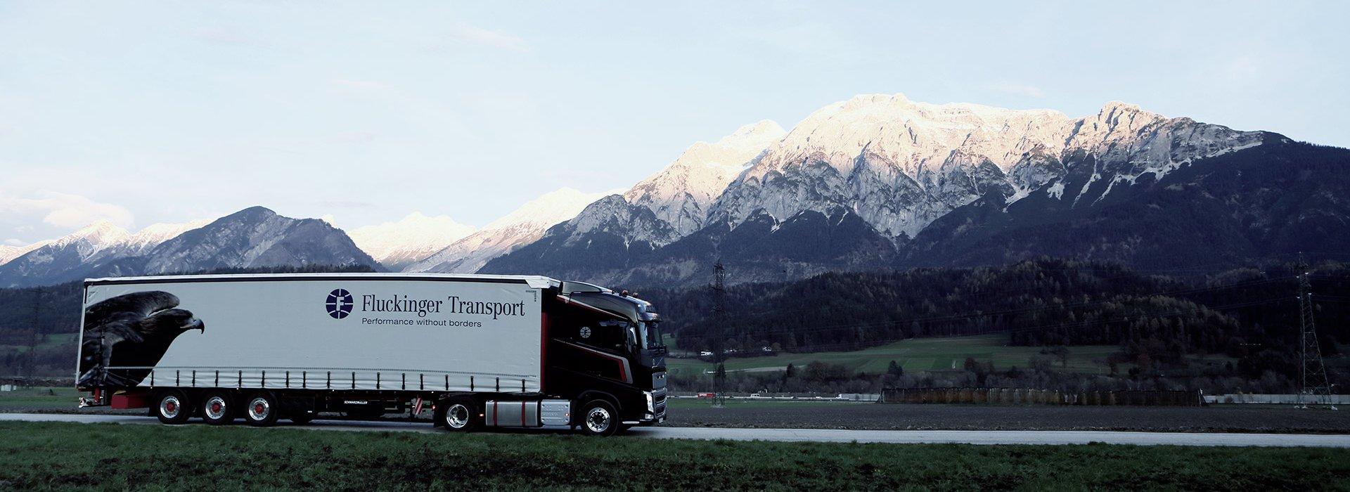 Fluckinger Transport lastbil