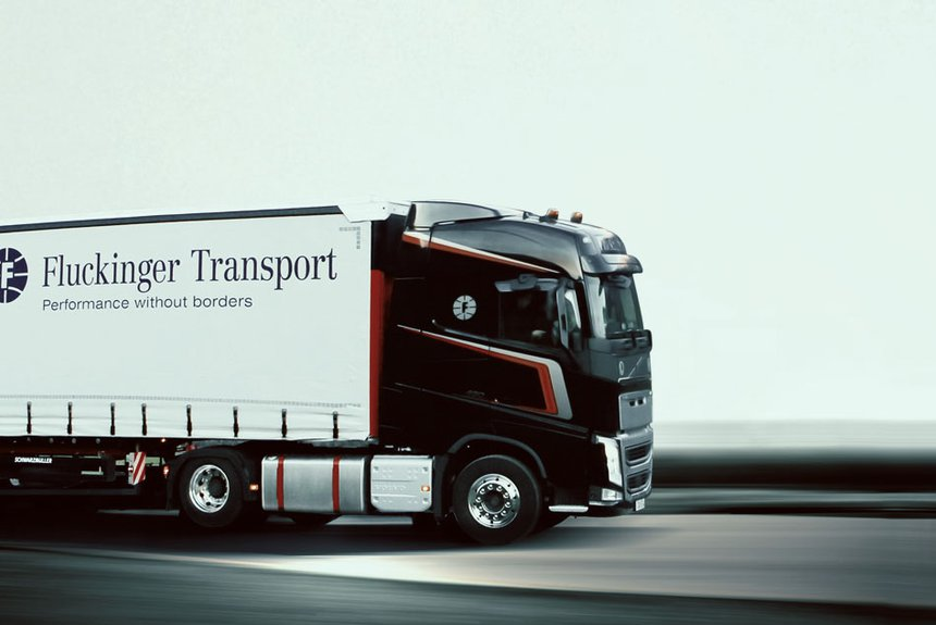 Fluckinger Transport LKW